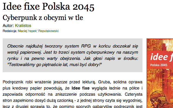 Recenzja na polter.pl